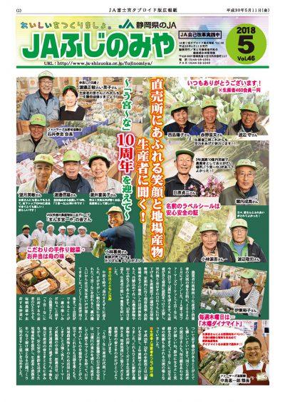 タブロイド<br /> 平成30年5月号